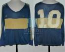 Boca Juniors - 1981 TM - Home - Adidas - 24ta Fecha Torneo Metropolitano vs San Lorenzo - Campeon - D. Maradona