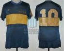 Boca Juniors - 1981 TN - Home - Adidas - 6ta Fecha Torneo Nacional vs San Lorenzo MdP - D. Maradona
