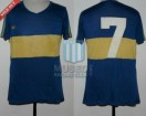 Boca Juniors - 1981 - Home - Adidas - Campeon Metro - O. Escudero