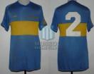 Boca Juniors - 1981 - Home - Adidas - Campeon Torneo Metropolitano - O. Ruggeri