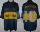 Boca Juniors - 1995 - Home - Olan - Parmalat - Friendly vs South Korea (PT) - D. Maradona