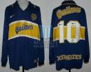 Boca Juniors - 1997 - Home - Nike - Quilmes - Torneo Clausura / Apertura - D. Maradona