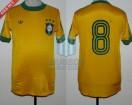 Brasil - 1979 - Home - Adidas - Copa America vs Paraguay - P. Falcão