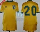 Brasil - 1985 - Home - Topper - Friendly vs Argentina - J. Reinaldo