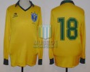 Brasil - 1987 - Home - Topper - Friendly vs Finland - Romario