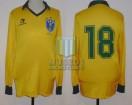 Brasil - 1987 - Home - Topper - Friendly vs Finland - Romario