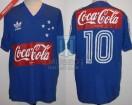 Cruzeiro - 1987 - Home - Adidas - Coca Cola - Careca