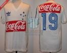 Cruzeiro - 1988 SC - Away - Adidas - 1ra Ronda vs Independiente - Eder