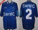 Cruzeiro - 1996 SC - Home - Finta - Energil C - Final Supercopa vs Velez - Vitor