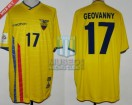 Ecuador - 2004 - Home - Marathon - Qualy Germany WC - G. Espinoza