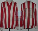 Estudiantes LP - 1981 TM - Home - Adidas - 13ra Fecha vs Boca Juniors - P. Hernandez