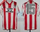 Estudiantes LP - 1989 - Home - Adidas - Loteria de la Pcia - Supercopa vs Gremio - N. Craviotto