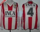 Estudiantes LP - 1992/93 - Home - Adidas - Inca Seguros - P. Erbin