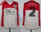 Estudiantes LP - 1992 - Away - Adidas - Inca Seguros - Clausura 92' - E. Pratola