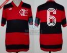 Flamengo - 1982 - Home - Adidas - Semis Copa Libertadores vs River Plate - J. Andrade