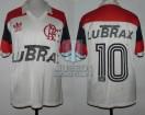 Flamengo - 1988 - Away - Adidas - Lubrax - Campeon Kirin Cup - A. Zico