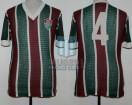 Fluminense - 1981 - Home - Malharia Doria - Friendly vs River Plate - Edinho