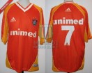 Fluminense - 2001 - Away - Adidas - Unimed