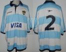 Los Pumas - 2003 - Home - Topper - Visa - F. Mendez