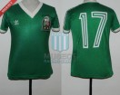 Mexico - 1984 - Home - Adidas - Friendly vs Argentina - J. Aguirre