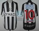 Montevideo Wanderers FC - 2009/10 - Home - Kappa - Cymaco/Ega/Medica Uruguaya/Ancel - M. Rodriguez