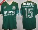 Palmeiras - 1984 - Home - Adidas - Marte Rolamentos - U. Player