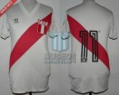 Peru - 1985 - Home - Adidas - Tancredo Neves Cup vs Brasil - J. Oblitas