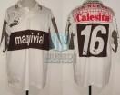 Platense - 1995/96 - Home - Puma - Maquivial/La Nueva Calesita - F. Di Carlo
