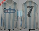 Racing de Cordoba - 1986/87 - Home - Adidas - Palmar - A. Oyola