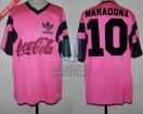 Ritmo de la Noche - 1992 - Home - Adidas - Coca Cola - F4 vs Las Estrellas - D. Maradona