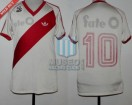 River Plate - 1985/86 - Home - Adidas - Fate O - Campeon - N. Alonso