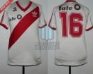 River Plate - 1986/87 - Home - Adidas - Fate O - 27ma Fecha vs San Lorenzo - C. Caniggia