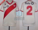 River Plate - 1987/88 - Home - Adidas - Fate O - 3ra vs Indepediente - N. Gutierrez