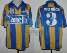 Rosario Central - 1990 - Home - Topper - Zanella - Torneo Apertura - J. Chamot