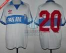 Universidad Catolica - 1988 - Home - Adidas - Pan Am - Copa Libertadores vs Maritimo - J. Olmos
