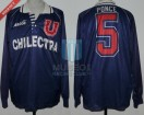 Universidad de Chile - 1995 - Home - Avia - Chilectra - Copa Libertadores - M. Ponce