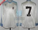 Uruguay - 1987 - Away - Puma - SF Copa America vs Argentina - A. Alzamendi