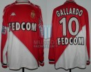 AS Monaco - 1999/00 - Home - Kappa - Fedecom - 27ma Fecha D1 vs RC Strasbourg - M. Gallardo