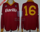 AS Roma - 1987 - Home - NR - Barilla - Friendly vs Argentina - S. Desideri