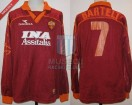 AS Roma - 1999/00 - Home - Diadora - INA Assitalia - Friendly Match - G. Bartelt