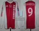 Ajax Amsterdam - 2003/04 - Home - Adidas - ABN AMRO - 3ra Fecha UEFA CL vs Celta Vigo - Z. Ibrahimovic