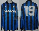 Atalanta BC - 1991/92 - Home - Lotto - Tamaoil - Friendly/Copa Italia - C. Caniggia