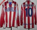 Atletico de Madrid - 1998/99 - Home - Reebok - Marbella - LFP - Juninho