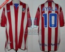 Atletico de Madrid - 2000 - Home - Reebok - Final Copa del Rey vs Espanyol - C. Ayala