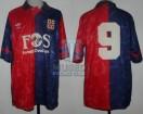 Cagliari - 1991/92 - Home - Umbro - FOS - Serie A Calcio / Copa Italia - E. Francescoli