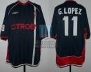Celta de Vigo - 2001/02 - Away - Umbro - Citroen - Liga de España / Copa del Rey - G. Lopez