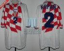 Croatia - 1998 - Home - Lotto - France WC vs Argentina - P. Krpan