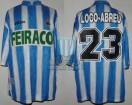Deportivo La Coruña - 1997/98 - Home - Adidas - Feiraco - 36ta Fecha LFP vs Valencia CF - W. Abreu
