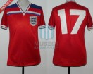 England - 1982 - Away - Admiral - Spain WC vs France - K. Sansom