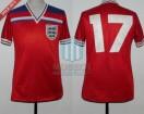 England - 1982 - Away - Admiral - Spain WC vs France - K. Sansom